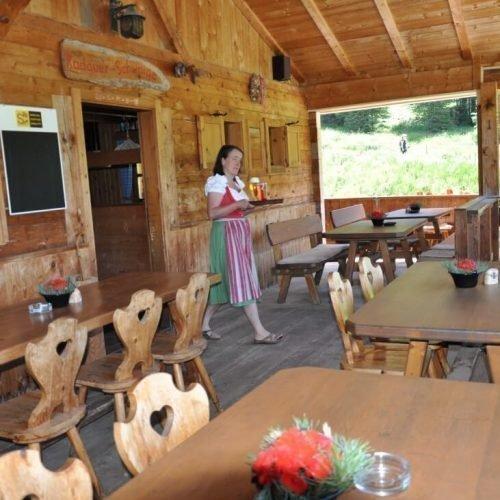 Unsere Hütte auf der Seiser Alm